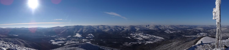 Widok ze szczytu Smereka